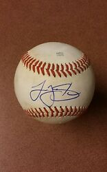 Logan Shore Signed Autographed Baseball On Used Minor League Ball.tigers