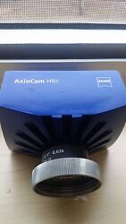 Zeiss Axiocam HRc high resolution colour microscope camera