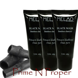 3 X Purifying Black Peel-off Charcoal Facial Cleansing Blackhead Remover