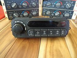 1999 - 2004 CHRYSLER 300M LHS  STRATUS INTREPID AC HEATER CLIMATE CONTROL