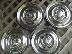1954 54 1955 55 Lincoln Mark Continental Premier Town Car Hubcaps Wheel Covers