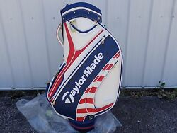 TaylorMade Golf US Open Limited Edition Tour Staff Golf Bag Red White
