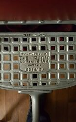 Barber Chair Manufactured By Emil J. Paidar Company Full Working Condition.