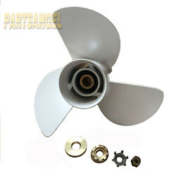 Boat Propeller 13.25 X 17 Pitch For 48-77344a45 13-1/4x17 Rh White