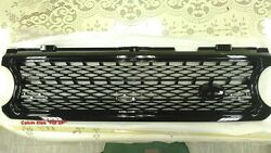 Mit Gloss Black Front Grille For Range Rover L322 Supercharged Model 2006-2009