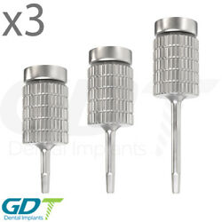 3 Hand Hex Driver 1.25mm Internal Hex Instruments Dental Implant For Abutment