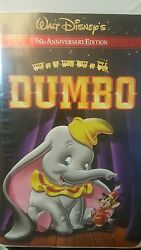 Rare Walt Disneyand039s Dumbo Vhs 2001 60th Anniversary Edition Used. Tested