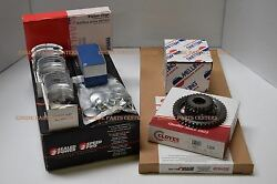 Ford 460 Engine Kit 1968-85 Rv Moly Minus Cam/lifters W/pistons Rings Beaings++