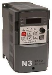 Teco Westinghouse Ac Motor Drive N3-225-n1 25hp/80a 230v 3phase In 230v Out New