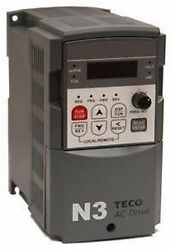 Teco Westinghouse Drive N3-410-c 10hp/17.5a 460v In 460v Out Ac Motor Vfd New