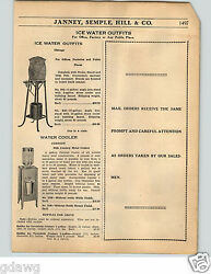 1936 Paper Ad Chicago Stone Stoneware Pottery Earthenware Water Cooler