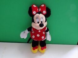Disney Minnie Mouse Stuffed Plush Shaggy 11 Boys And Girls Toy Doll 3 And Up