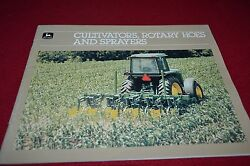 John Deere Cultivators Rotary Hoes And Sprayers For 1985 Dealers Brochure Dcpa8