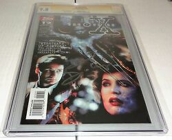 X-files 12 Cgc Ss 9.8 Signature Autograph David Duchovny Signed Topps Comics