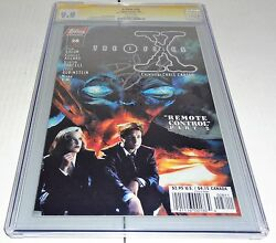 X-files 28 Cgc Ss 9.8 Signature Autograph David Duchovny Signed Topps Comics 🔥