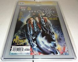 X-files 25 Cgc Ss 9.8 Signature Autograph David Duchovny Signed Topps Comics 🔥