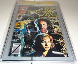 X-files 5 Cgc Ss 9.8 Signature Autograph David Duchovny Signed Topps Comics 🔥