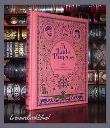 Little Princess F. H. Burnett Illustrated New Sealed Leather Bound Collectible