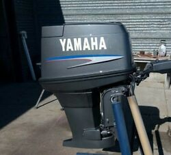 Yamaha Outboard Motor Decal Kit 40 Hp 2 Stroke Sticker Message For 50 Or 60