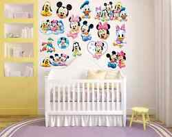 Mickey Mouse Clubhouse Room Decor Nursery Wall Decal Removable Sticker