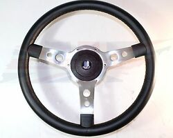 New 15 Leather Steering Wheel And Hub Adaptor Triumph Spitfire Gt6 1963-1976