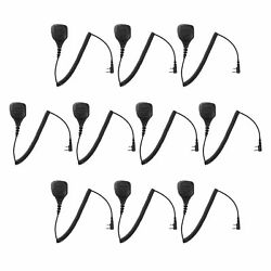 10 Pcs Remote Speaker Mic For Puxing Px-999 Px-888k Px-888 For House Keeping