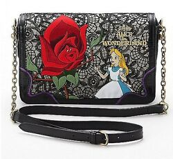 ANNA SUI x Alice in the Wonderland Design Shoulder Bag From Japan NWT EMS #1
