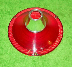 1961 Ford Fairlane 500 Galaxie Vic Sunliner Orig Nos Rear Tail Light Lamp Lens