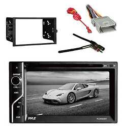 In-dash Receiver W/dash Kit For Radio Antenna Adapter And Radio Wiring Harness