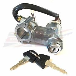 Ignition Switch And Steering Lock Assembly W Keys Triumph Spitfire 1973-76 5 Pin
