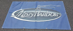 Misty Harbor Boats Banner / Flag 3and039x5and039 Man Cave Garage