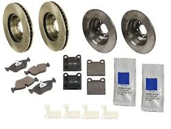 For Volvo 850 S70 Brake Kit Front+rear Rotors Pads Paste Shim Set High Quality