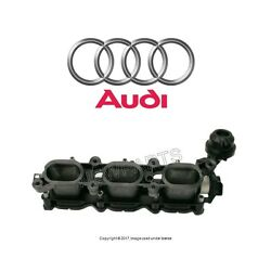 For Audi A6 Quattro Passenger Right Lower Intake Manifold Air Equalizer Housing