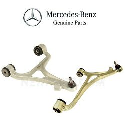 For MB W203 C Pair Set of 2 Front Lower Susp Control Arms Ball Joints Bushings