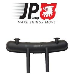 For Porsche 911 Exhaust Muffler Painted Steel Dual Black Pea Shooter Outlets