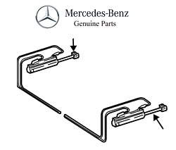 For Mercedes R171 Slk Pair Set Of 2 Rear Convertible Top Cylinders Lines To Pump