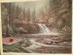 Arnold Mcdowell Print Signed And Numbered 146 -sunday Picnic Unframed -18x24