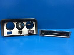 Porsche 944 Early Style Upper Dash AC + Heat Climate Control Housing + Knobs