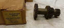 1932-1935 Ford Cluster Gears Model B 18 40 46 48 50 B7713 Pass Commercial