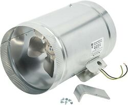 EF-10 Duct Booster Fan 475 CFM Inline Blower Hydroponic Extractor Bathroom