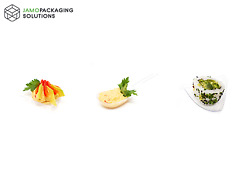 Luxury Small Display Dishes / Plates For Catering Party Snacks Nibbles