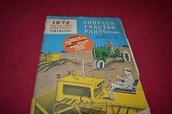 Surplus Tractor Parts Corp For 1972 Dealerand039s Brochure Yabe13 Ver2