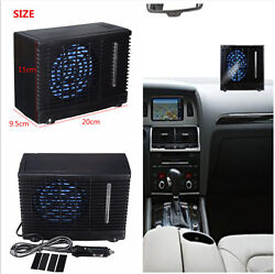 Portable Home Car Cooler Cooling Fans Water Ice Evaporative Air Conditioners 12V