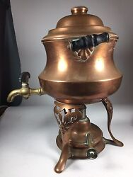 Antique Vintage Coffee Tea Percolator Manning And Bowman Co. 1913