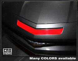 Chevrolet Camaro 2010-2013 Ss Mail Slot Vent Insert Stripe Decal Choose Color