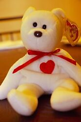 Ty Rare Beanie Babies Valentino 1994 With 8 Errors..retired And Mint Condition