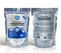 Magnesium Chloride Flakes - All Natural From The Zechstein Seabed - 2 Lbs