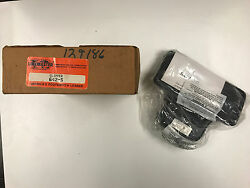 Linemaster 642-S Clipper Foot Switch Electrical Momentary Single Pedal  *NIB*