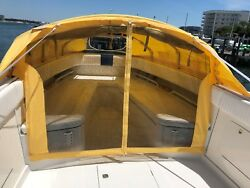 Boat Tent Cabin Canopy Bow Dodger Boat Shade Center Console The Element Diving