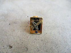 Vintage Me Fa Aerospace Group F-16 Employee Service Pin Fighter Jet Company